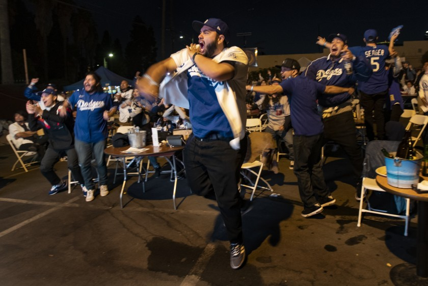 Dodgers' World Series win gives L.A. a joyous night in a year of such misery