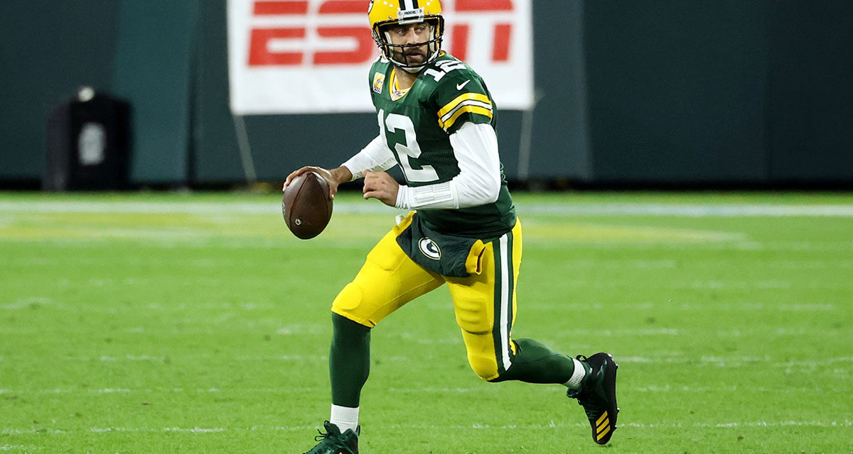 Aaron Rodgers' historic start to NFL season has Packers dreaming big