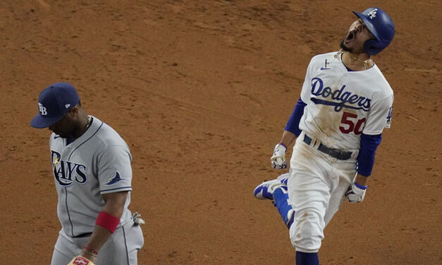 Los Angeles Dodgers' Mookie Betts is the social media star of the 2020 World Series