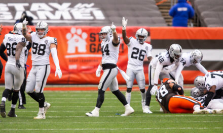 Raiders playoff odds move up to 52 percent after Week 8 win