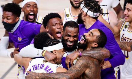 LeBron James could play with his son in the NBA after extending contract with Los Angeles Lakers