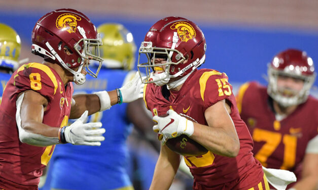 No. 15 USC Football Defeats Rival UCLA in Thriller, 43-38