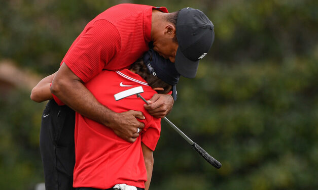 Tiger the competitor reveals Tiger the father during fun, emotional weekend