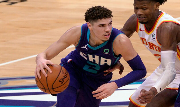 Charlotte Hornets' LaMelo Ball, 19, youngest ever to record triple-double