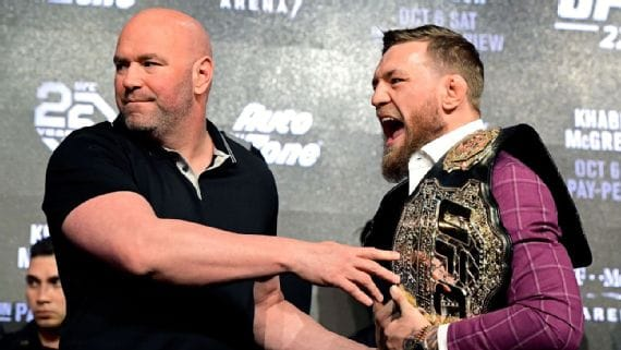 With relationship repaired, Dana White says 'real' Conor McGregor ready for UFC 257