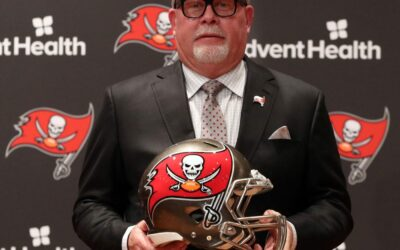 Bruce Arians 'really proud' of Buccaneers ending 13-year playoff dry spell, says 'it's just the beginning