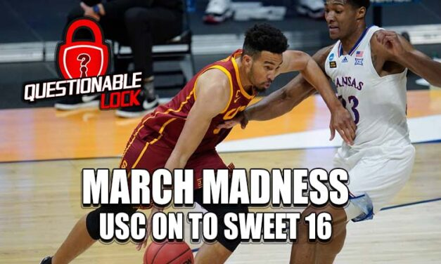 USC punches it's ticket to the Sweet Sixteen with a big win over the Kansas Jayhawks